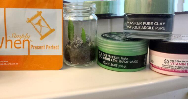 My favourite face masks