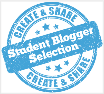 Part of the Student Blogger Selection