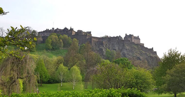 72 hours in Edinburgh