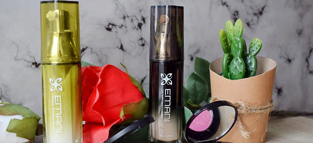Creating my perfect base with Emani Cosmetics + Giveaway