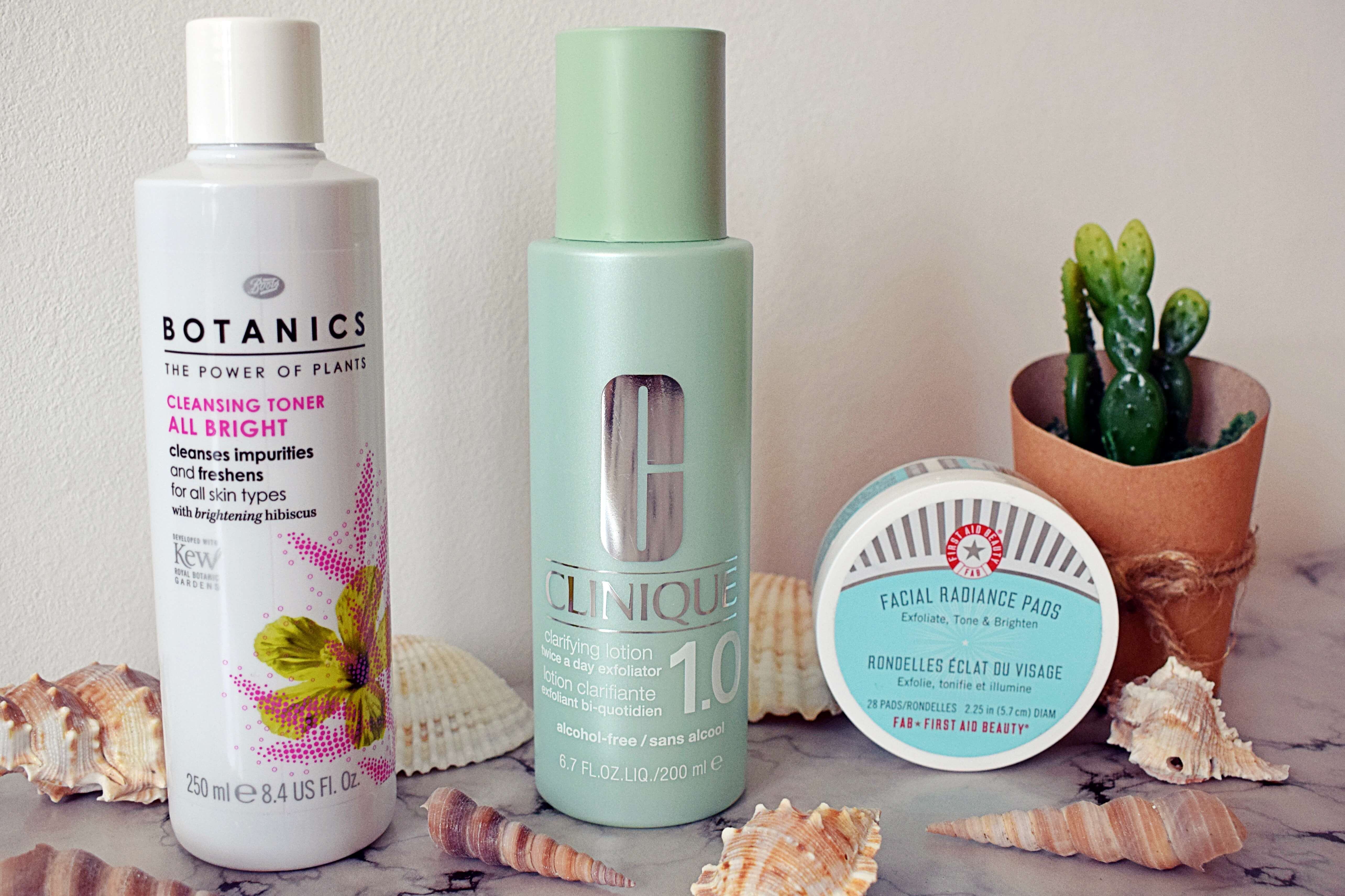 Which one would I choose?   Exfoliating Toners
