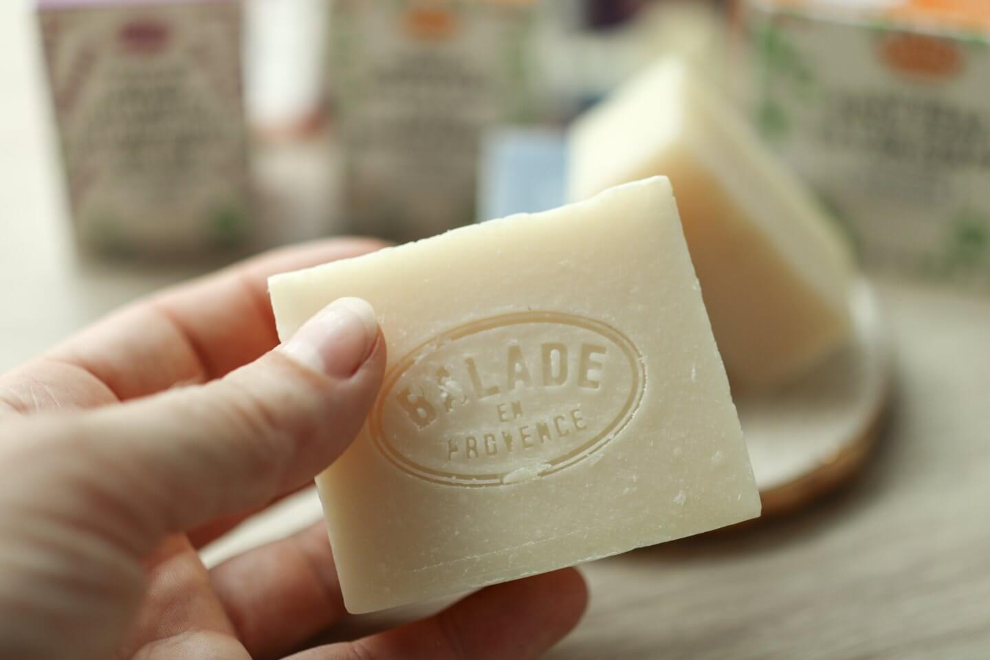 New Vegan Organic Solid Body Soap Bars from Balade en Provance