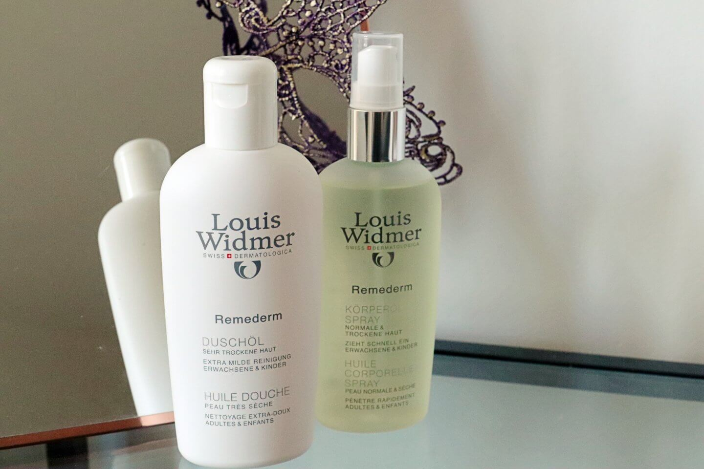 Entrepreneur writes about the new remederm Body oil and Shower oil from Louis Widmer
