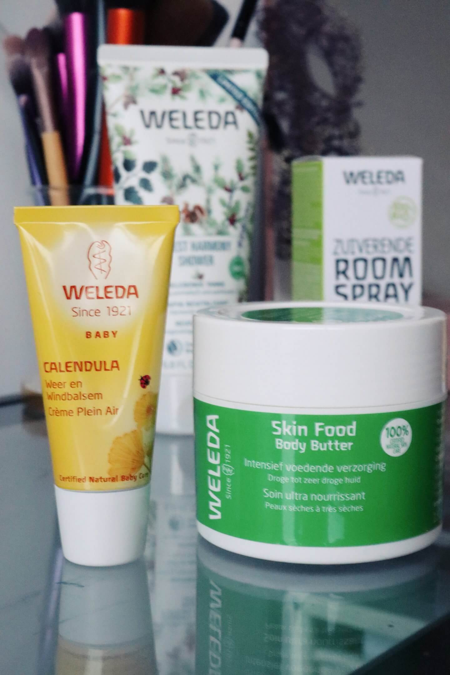 Weleda winter favourites of 2019. The skin food body butter, weleda cold cream.