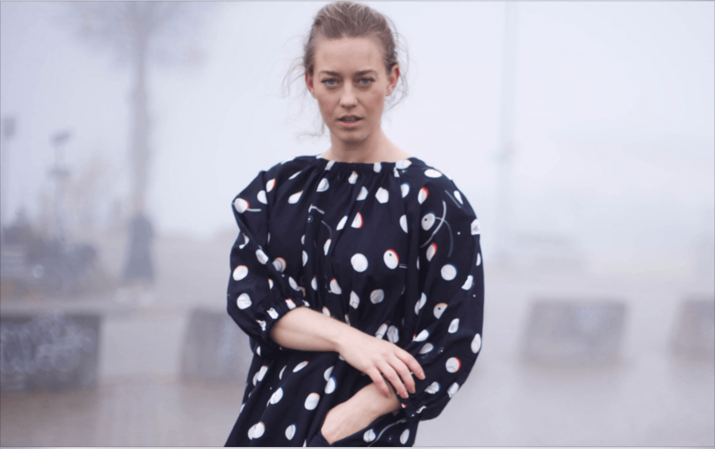 Giorgia Lupi Co-lab with & Other stories in a data-driven inspired fashion collection