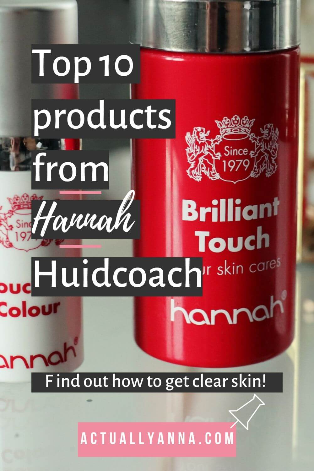 Do you want to read about my new skincare routines including the top 10 skincare products for clear skin? Evening routine and Morning routine it's all there! I found the best dry skin remedies, which are also suitable for sensitive skin. Find out how to get clear skin today with the Hannah Huidcoach Products! #skincare #dryskin #sensitiveskin #skincareroutine #clearskin