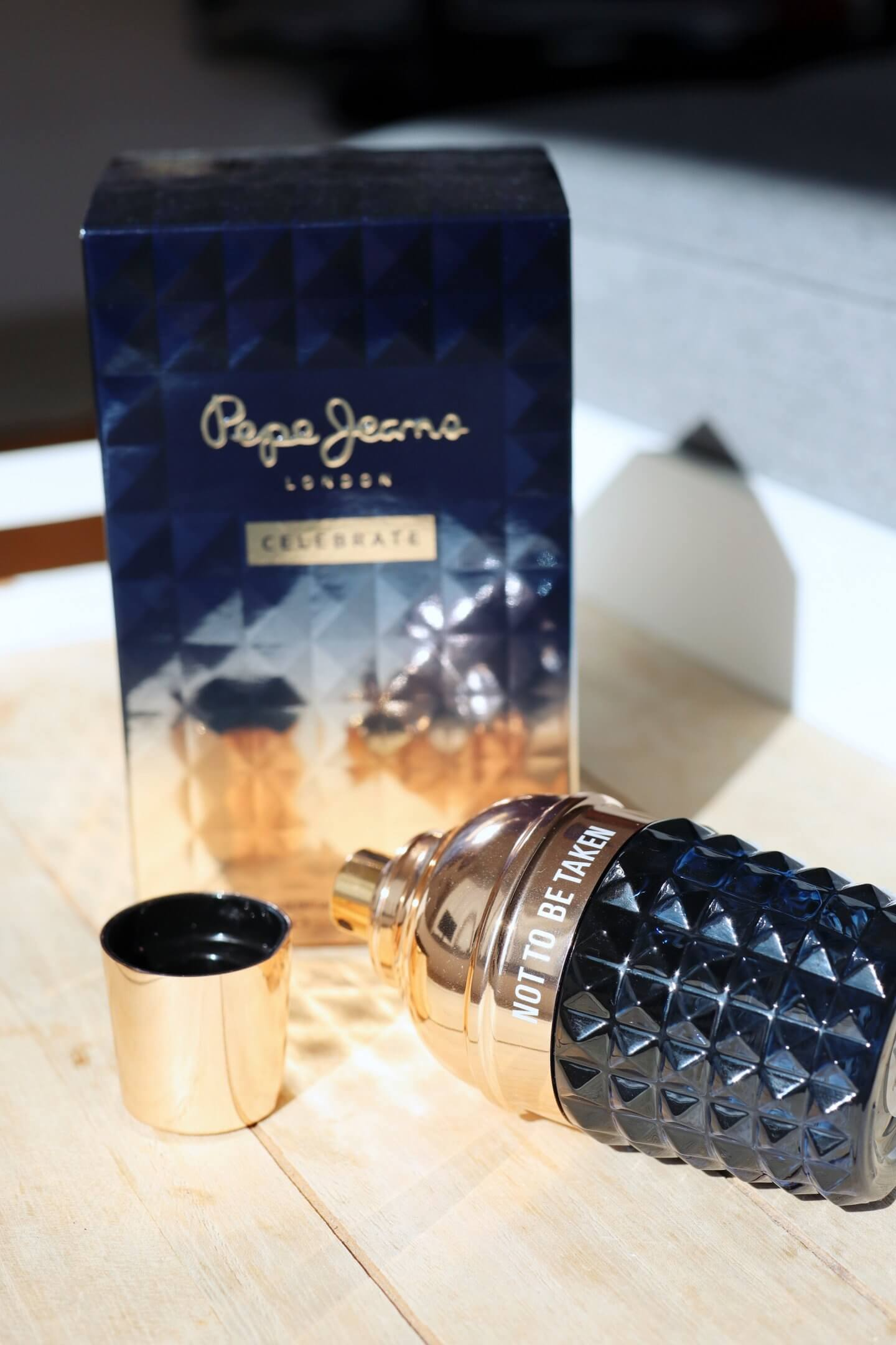 The new Pepe Jeans Perfume with both Pepe Jeans Celebrate for him and Pepe Jeans for her