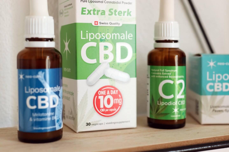 Neo Cure CBD oil, liposomal cbd, best cbd products.