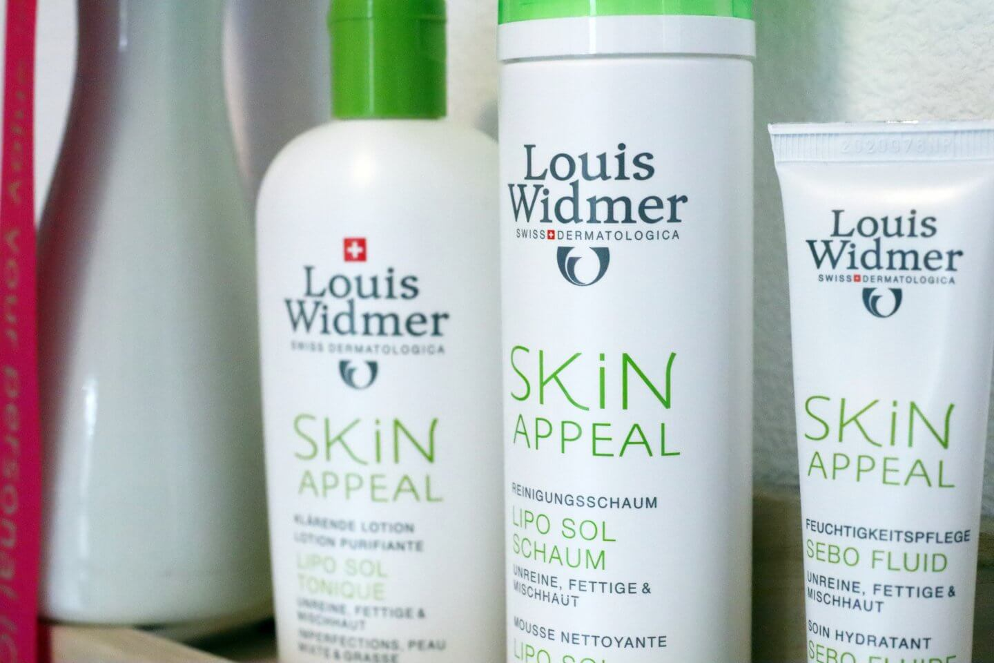 acne cream louis widmer