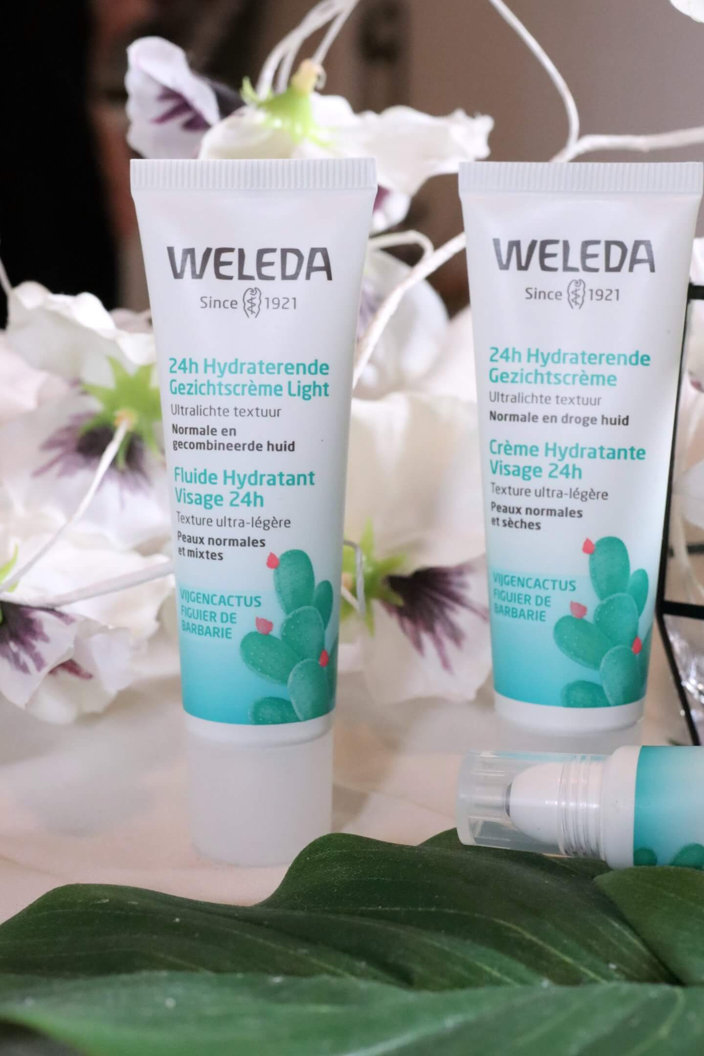 weleda sheer hydration collection
