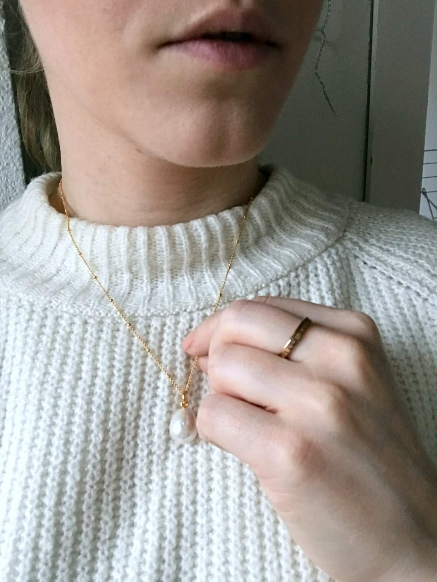 monica vinader necklace - actually anna