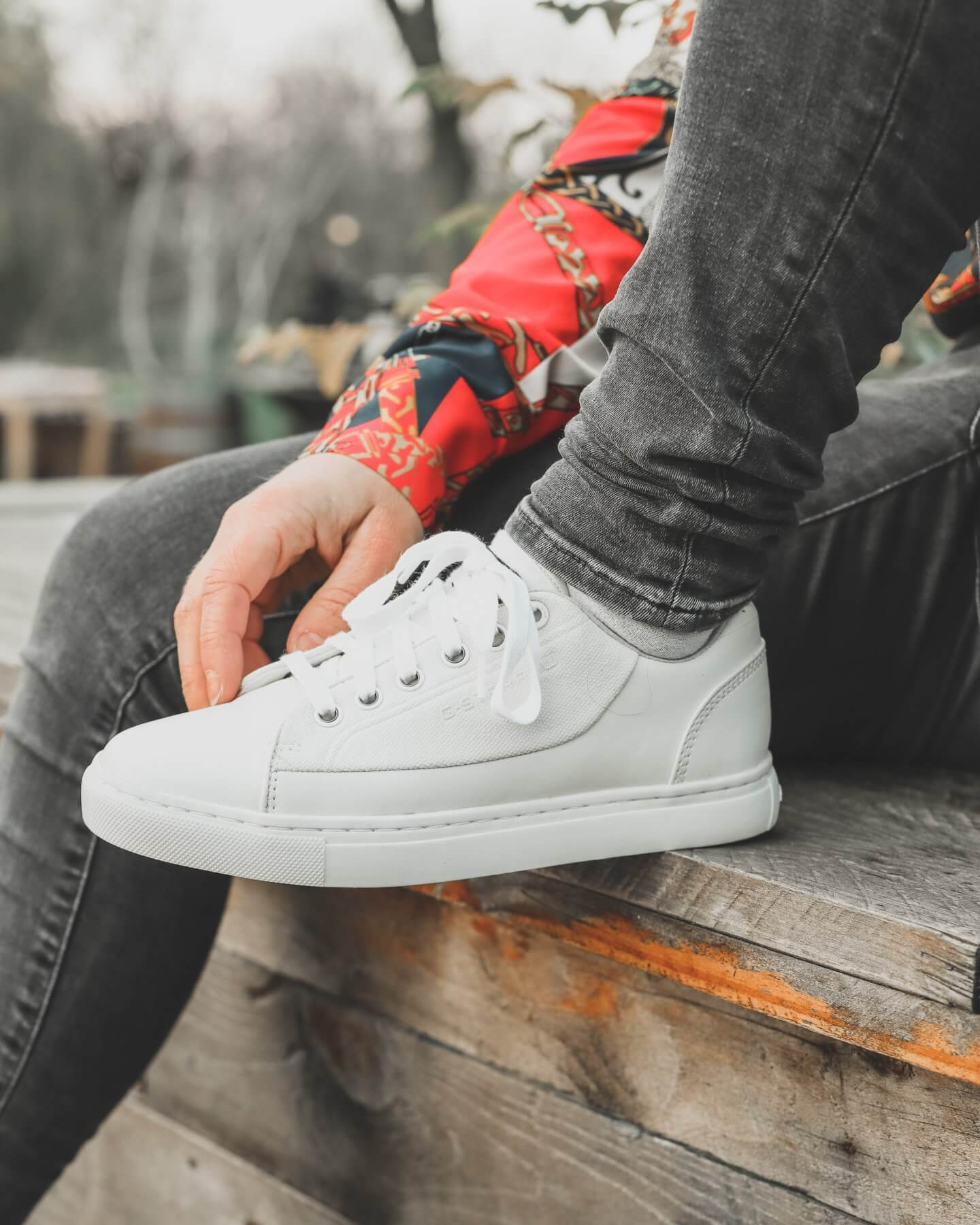 g star white sneakers - actually anna