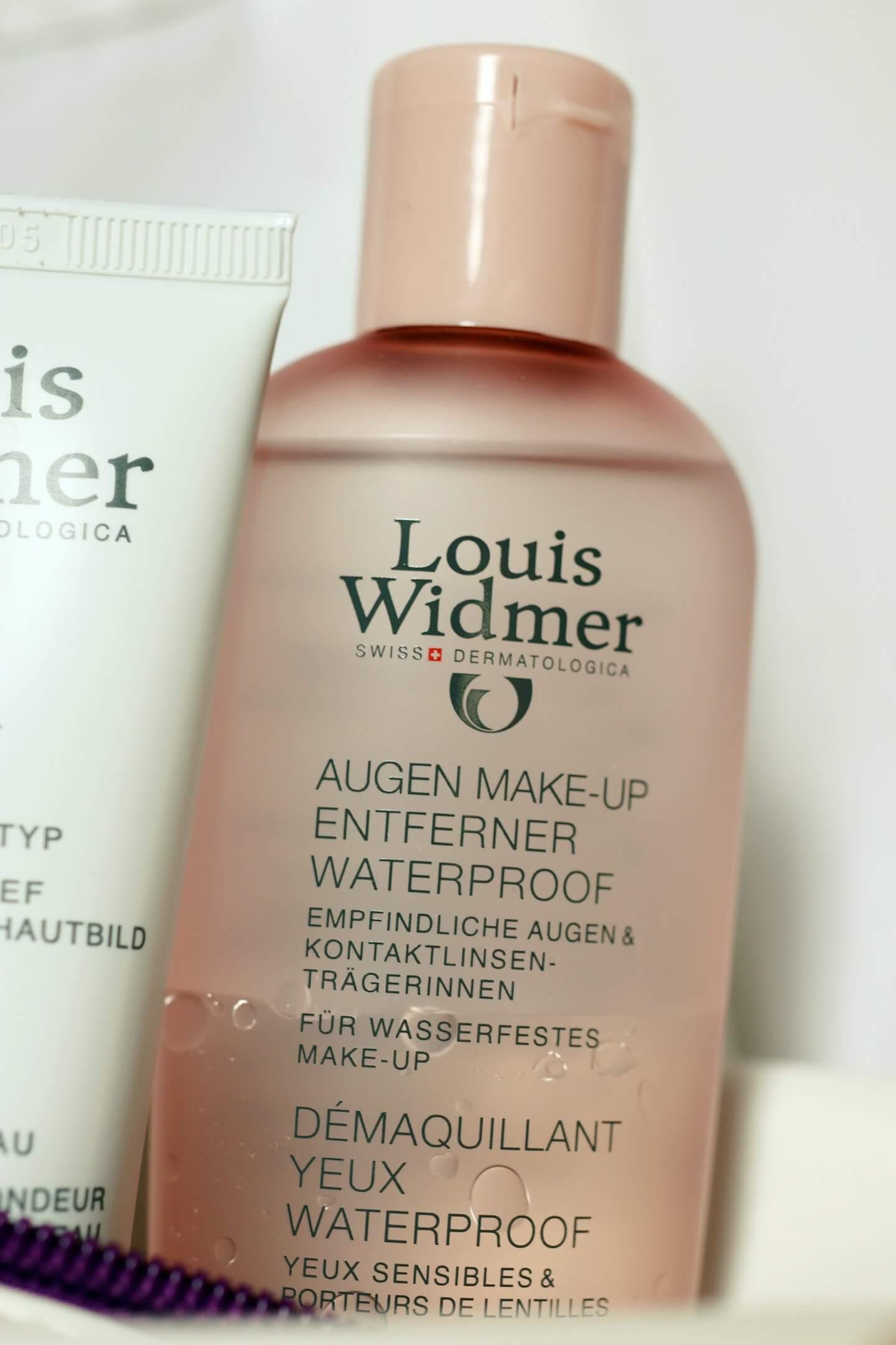 louis widmer eye makeup remover - actually anna