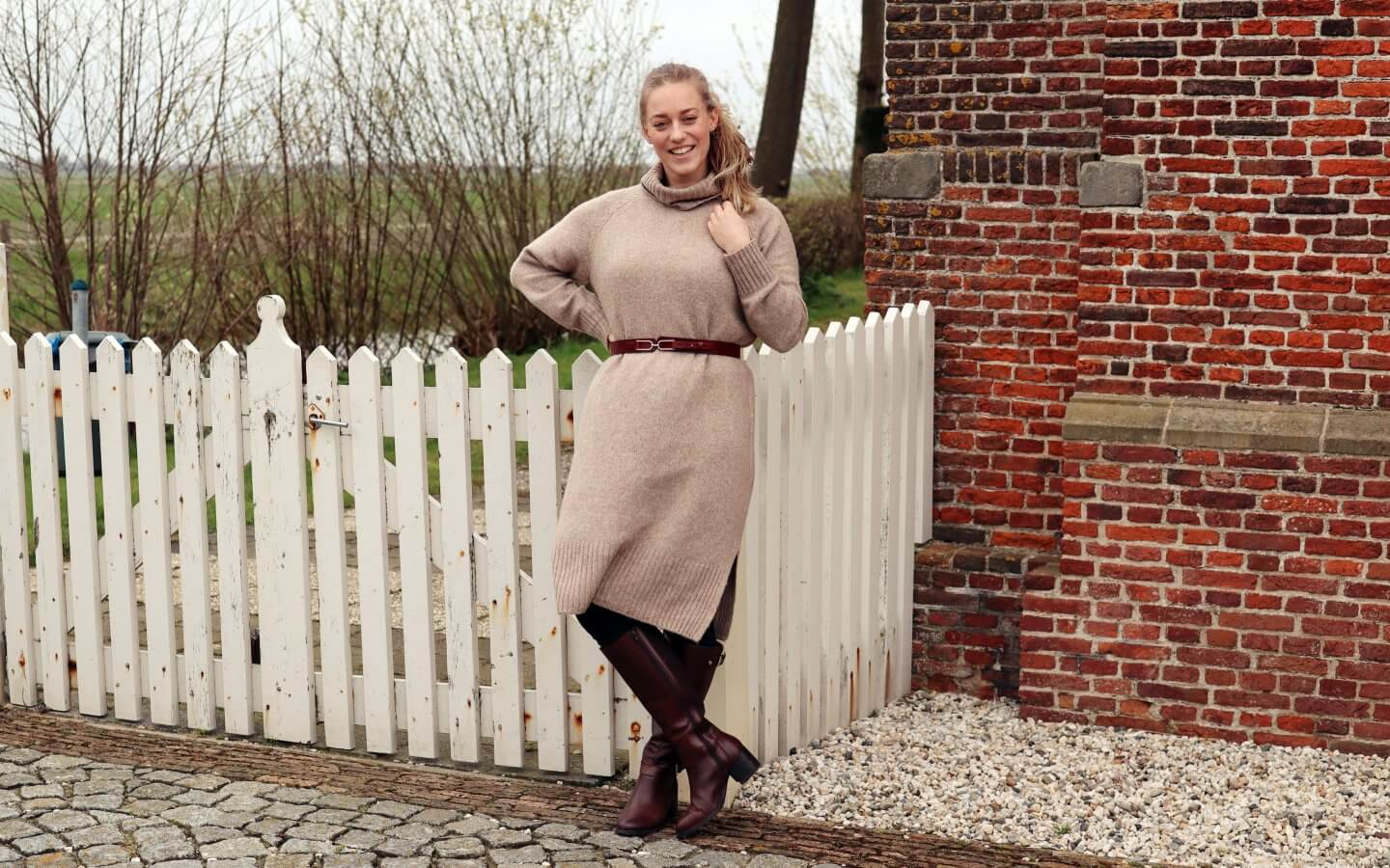 how to style a jumper dress - actually anna